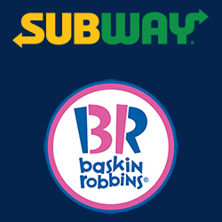 Subway Runaway Bay/Baskin Robbins Paradise Point